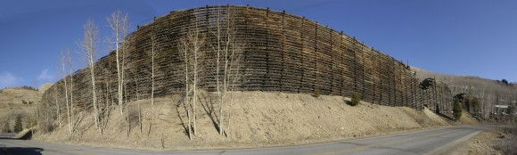 Retaining Wall on Hwy67