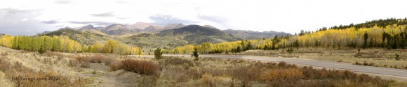Teller County Road 81 Mile Marker 2- Fall Colors